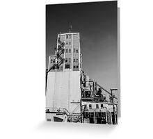 Alberta Grain Terminal Greeting Card