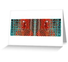Lobsterface Greeting Card