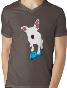 Puppy Desires Dinner Mens V-Neck T-Shirt