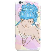 Corset girl iPhone Case/Skin