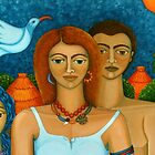 3 Ages of a Woman and a Man closer by Madalena Lobao-Tello