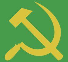 Communism - Soviet Union - Hammer Sickle Star One Piece - Short Sleeve