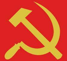 Communism - Soviet Union - Hammer Sickle Star by welikestuff