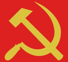 Communism - Soviet Union - Hammer Sickle Star Kids Tee