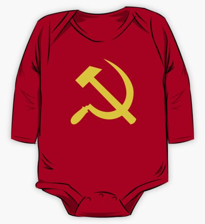 Communism - Soviet Union - Hammer Sickle Star One Piece - Long Sleeve