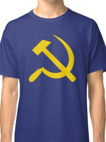 Communism - Soviet Union - Hammer Sickle Star Classic T-Shirt