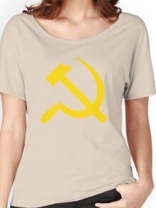 Communism - Soviet Union - Hammer Sickle Star Women's Relaxed Fit T-Shirt