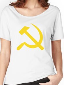 Communism - Soviet Union - Hammer Sickle Star Women's Relaxed Fit T-Shirt