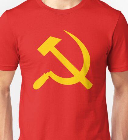 Communism - Soviet Union - Hammer Sickle Star Unisex T-Shirt