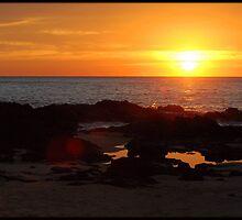 Burgess Beach at Dawn by kelliejane
