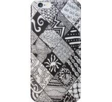 Diamonds Zentangle iPhone Case/Skin