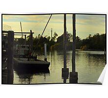 Tuncurry Fishing trawler, NSW Poster
