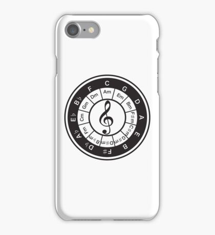 Circle_of_5th iPhone Case/Skin