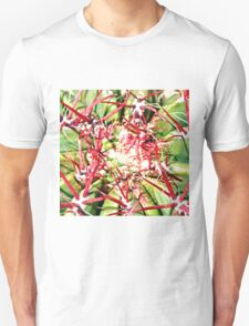 Red Cactus Thorns T-Shirt