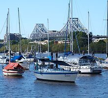 Brisbane City Story Bridge by Virginia McGowan