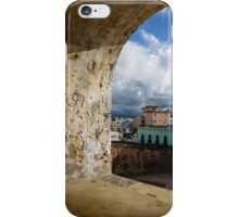 Caribbean Colors of San Juan, Puerto Rico From a Window of San Cristobal Castle iPhone Case/Skin