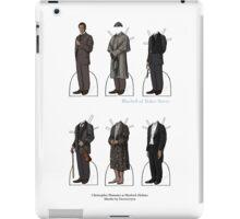 Christopher Plummer Paper Dolls iPad Case/Skin