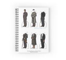 Christopher Plummer Paper Dolls Spiral Notebook