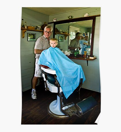The Barber Shop-PA Heritage Festival Poster