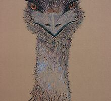 Emu by Linda Ridpath