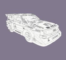 Audi Quatro Rally Car by oliver9523