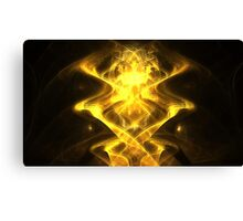 Golden Magnet Canvas Print