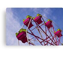 The Ferris Wheel-Endless Mountains Maple Festival Canvas Print