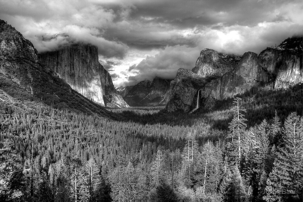 Yosemite Valley by Justin Baer