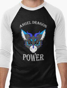 Angel Dragon Power Men's Baseball ¾ T-Shirt