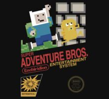 Super Adventure Bros! Kids Tee