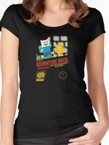 Super Adventure Bros! Women's Fitted Scoop T-Shirt