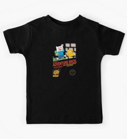 Super Adventure Bros! Kids Tee