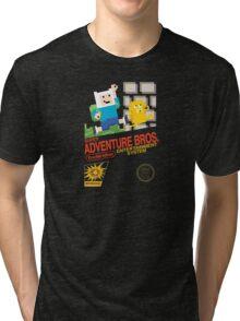 Super Adventure Bros! Tri-blend T-Shirt