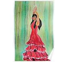 The Flamenco Dancer Poster