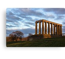 Calton Hill Canvas Print