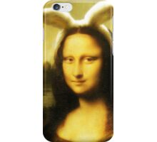 Mona Lisa Easter Bunny  iPhone Case/Skin
