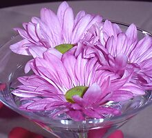 A flower martini by Artcool