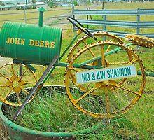 John Deere Mailbox by Penny Smith