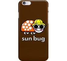 VW Sun Bug (white text) iPhone Case/Skin