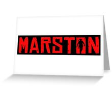 Marston Greeting Card