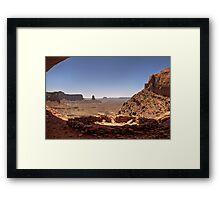 False Kiva Framed Print