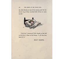 The Queen of Pirate Isle Bret Harte, Edmund Evans, Kate Greenaway 1886 0062 Sleep Photographic Print