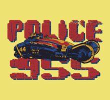 Police Spinner Kids Tee