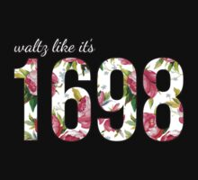 Waltz Like It's 1698 - Pink Floral by quinndeltrice