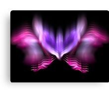 Lilac Firefly Canvas Print
