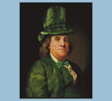 St Patrick's Day for Lucky Ben Franklin   Kids Clothes