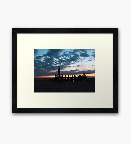 Lytham St Annes Framed Print