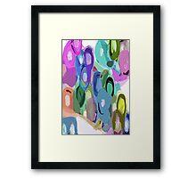 Les tours de couleur Framed Print