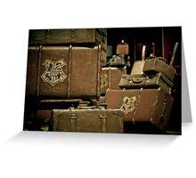 Return To Hogwarts Greeting Card