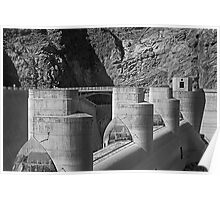 Spillway Towers Poster